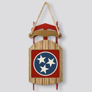 Tennessee State Stars Sled Ornament