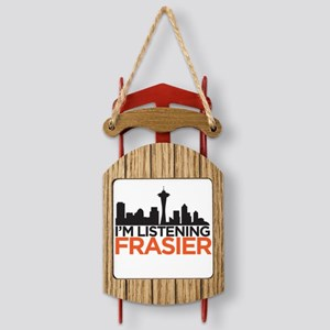 Frasier Sled Ornament