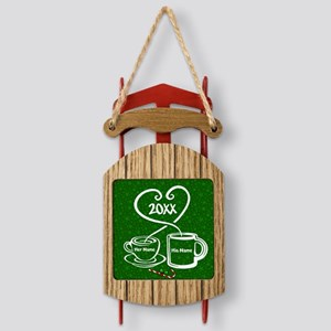 Personalize It Sled Ornament