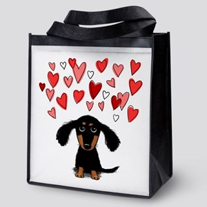 doxiehearts Reusable Grocery Tote Bag