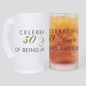 Celebrating 30 Years Mug Frosted Stein