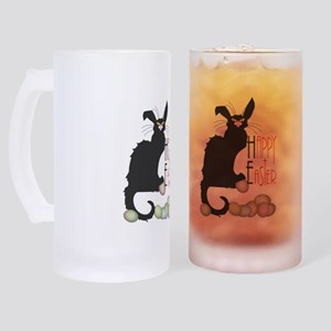 Happy Easter - Le Chat Noir Frosted Stein