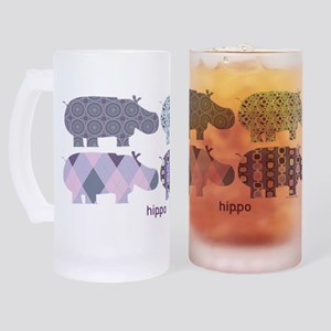 Purple Hip.Po Frosted Stein