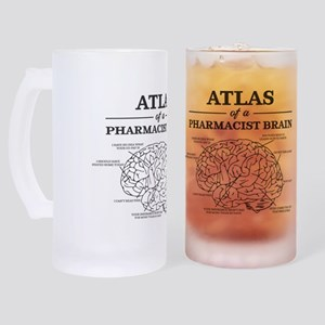 Atlas of a Pharmacist Brain Frosted Stein