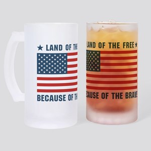 land_flag_w Frosted Stein