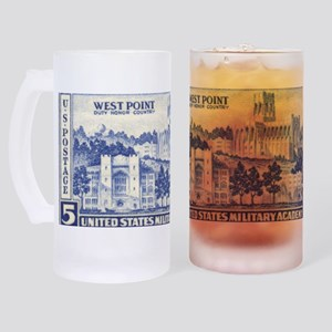 stamp9 Frosted Stein