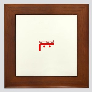 Droid Logo Framed Tile