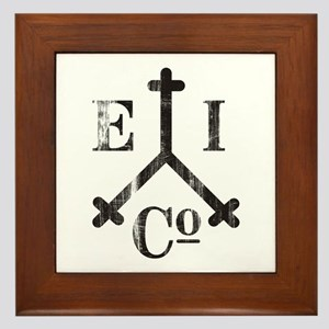 East India Trading Company Logo Framed Tile