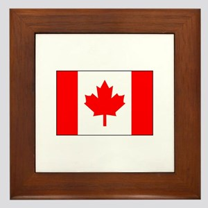 Canadian Flag 2 Framed Tile