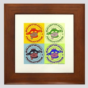 2x2 Popart Smarty Framed Tile