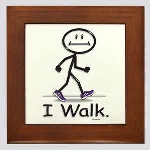 BusyBodies Walking Framed Tile