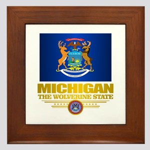 Michigan Pride Framed Tile