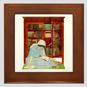 LOST HORIZONS by Coles Phillips Framed Tile