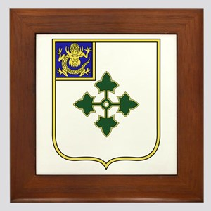 47th Infantry Regiment Framed Tile