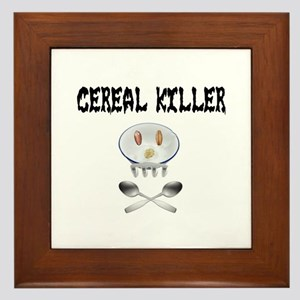 Cereal Killer Framed Tile