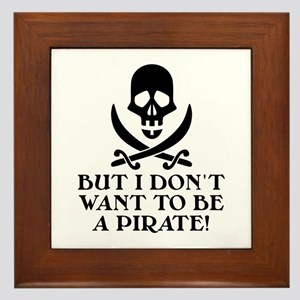 Seinfeld: Pirate Quote Framed Tile