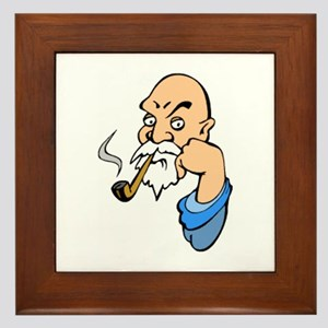 Smoking Framed Tile