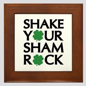 Shake Your Shamrock Framed Tile