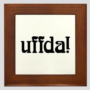 uffda Framed Tile