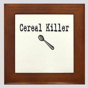 Buy Cereal Killer Funny shirt Framed Tile