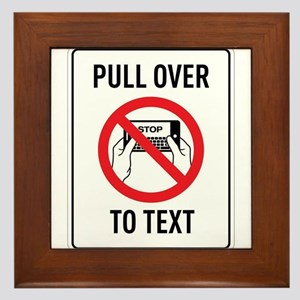 Pull OverTo Text Framed Tile
