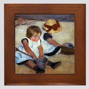 Mary Cassatt Framed Tile