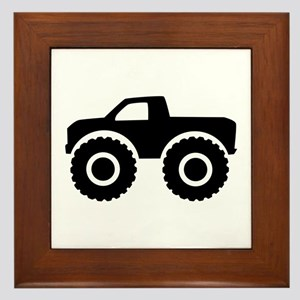 Monster truck Framed Tile