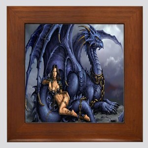 459_ipad_case Framed Tile