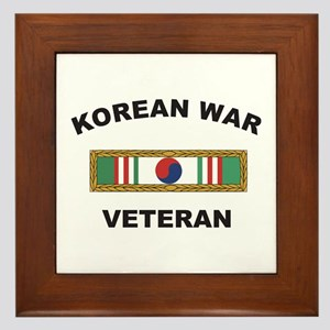 Korean War Veteran 1 Framed Tile