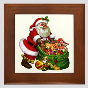 Santa Claus! Framed Tile