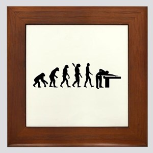 Evolution Billiards Framed Tile