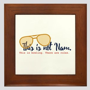 this is not 'nam Framed Tile