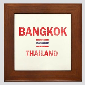 Bangkok Thailand Designs Framed Tile