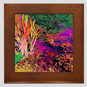 Nature gone wild Framed Tile