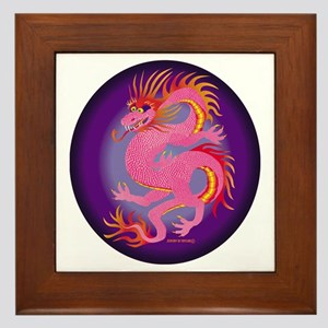 Dragon Framed Tile