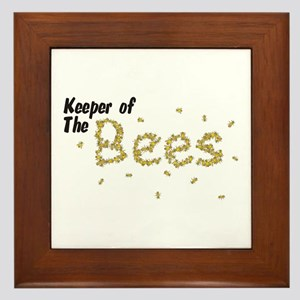 Keeper of the Bees Framed Tile