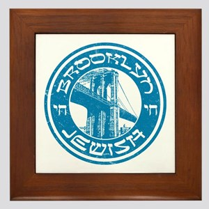 Brooklyn New York Jewish Framed Tile