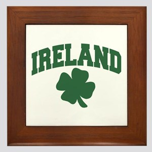 Ireland Shamrock Framed Tile