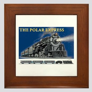 LOCOMOTIVE - POLAR EXPRESS Framed Tile