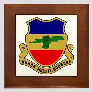 73rd Cavalry Regiment Framed Tile