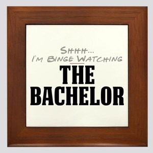Shhh... I'm Binge Watching The Bachelor Framed Til
