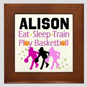 BEST BASKETBALL Framed Tile