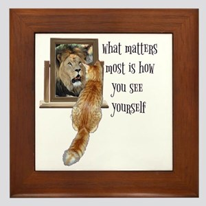 What matters most is how you see yours Framed Tile