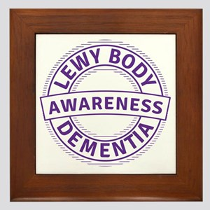 Lewy Body Dementia Awareness Framed Tile