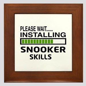Please wait, Installing Snooker Skills Framed Tile