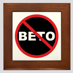 Anti Beto for Senate Texas 2018 Framed Tile