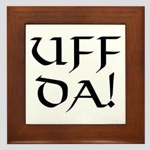 Uff Da! Framed Tile