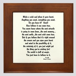 Tree Hill Finale Framed Tile