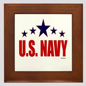 U.S. Navy Framed Tile