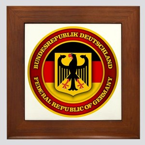 German Emblem Framed Tile